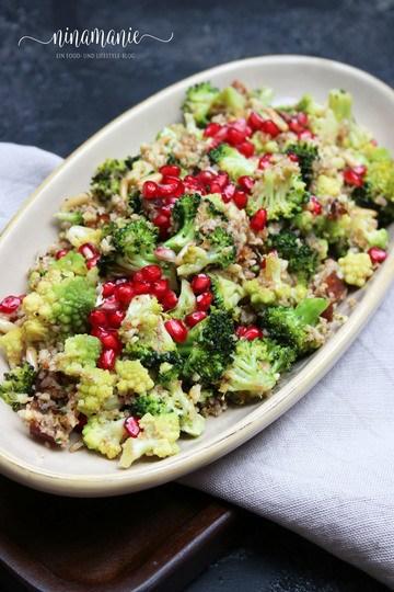 Rezept Brokkoli-Blumenkohl-Salat
