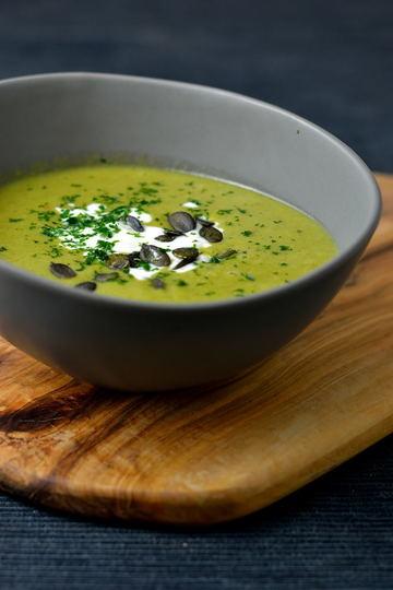 Rezept Brokkoli-Erbsensuppe