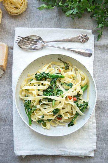 Rezept Brokkoli Pasta mit Zitrone und Chili