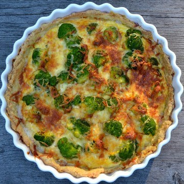 Rezept Brokkoli-Quiche