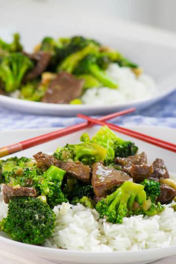 Rezept Brokkoli Rindfleisch Pfanne mit Cashewnüssen