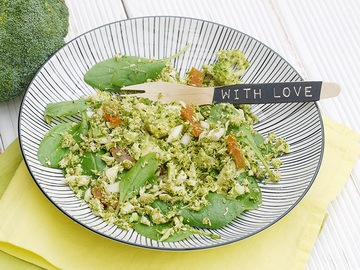Rezept Brokkoli-Taboulé – himmlische südländische Aromen treffen auf gesunden Brokkoli