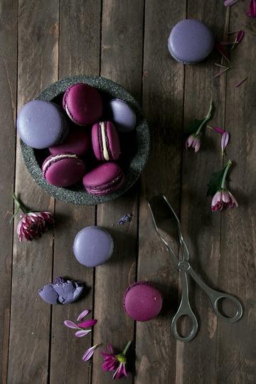 Rezept Brombeer Balsamico Macarons