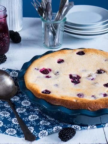 Rezept Brombeer Cheesecake Auflauf