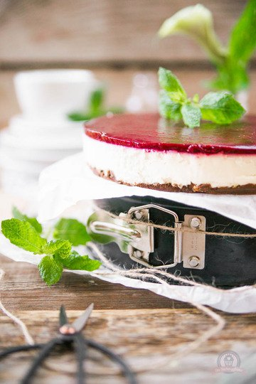 Rezept Brombeer Cheesecake