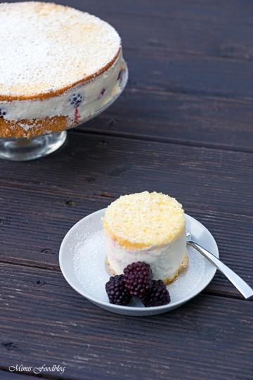 Rezept Brombeer-Käsesahne Torte