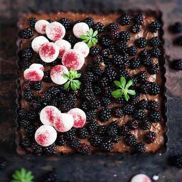 Rezept Brombeer-Schokoladenmousse Tart