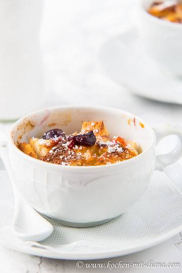 Rezept Brot Pudding