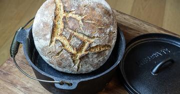 Rezept Brote für Brotbackstarter Nr. 5: Dinkel-Hartweizen-Brot