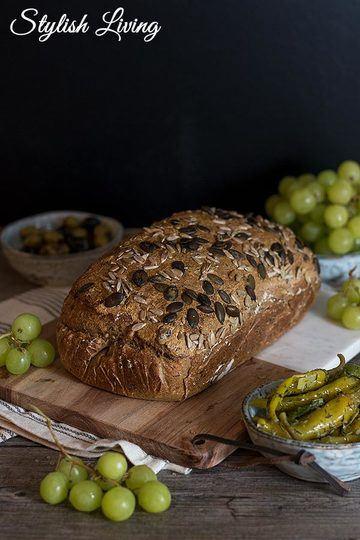 Rezept Brotzeit mit Dinkelvollkornbrot