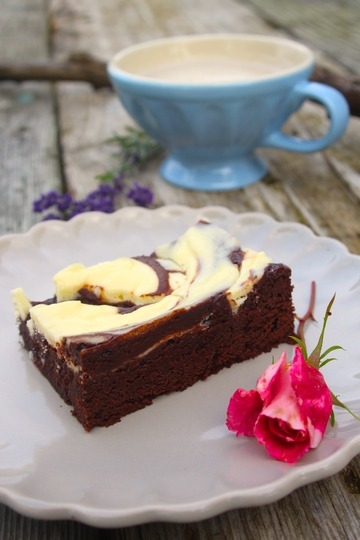 Rezept Brownie-Cheesecake-Swirl