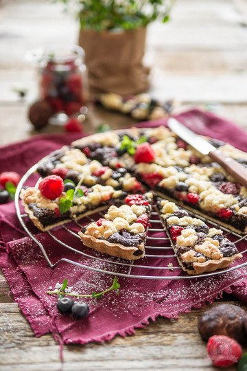 Rezept Brownie Cookie Tarte