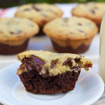 Rezept Brownie und Cookie
