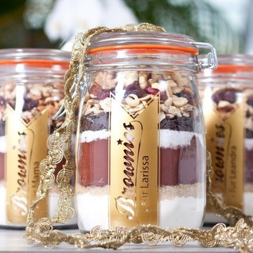 Rezept Brownies (aus dem Glas)