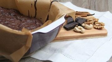 Rezept Brownies - denn manchmal muss ein einfach Schokolade sein