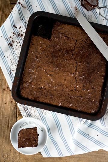 Rezept Brownies ohne Nüsse