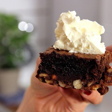 Rezept Brownies - Schokoladig & Saftig!