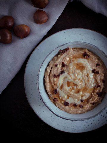 Rezept Buchweizen Pudding mit Maronen