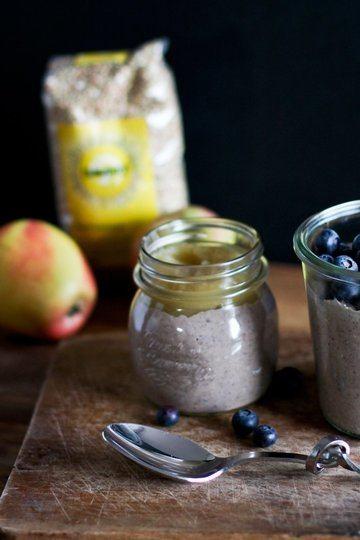Rezept Buchweizenbrei mit Obst als Frühstück