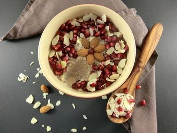 Rezept Buchweizenporridge mit Mandeln und Vanille