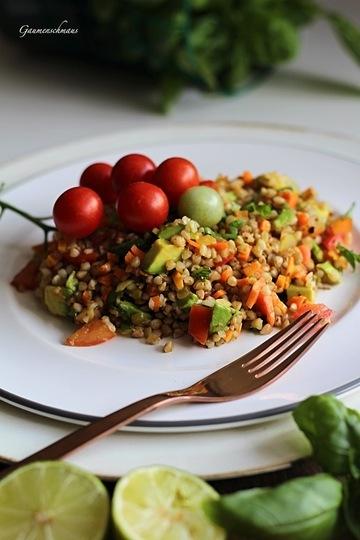 Rezept Buchweizensalat