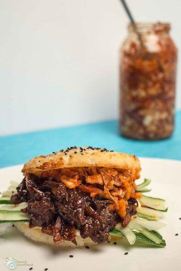 Rezept Bulgogi-Reis-Burger