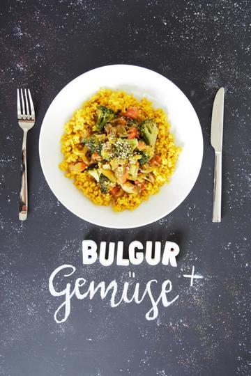 Rezept Bulgur mit Gemüse