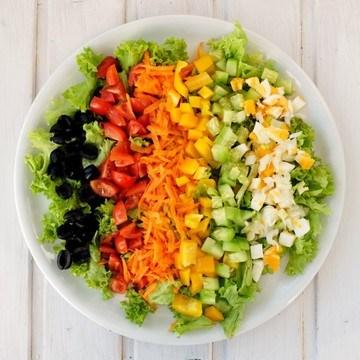 Rezept Bunt gemischter Salat