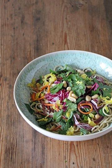 Rezept Bunte Asianudeln mit Gemüse
