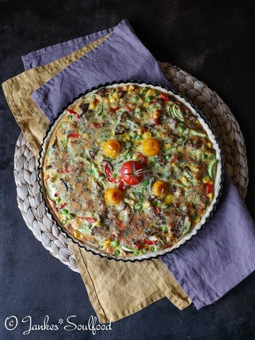 Rezept Bunte Gemüse-Quiche