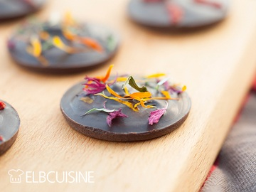 Rezept Bunte Schokolade – Fröhliche Weihnachten!