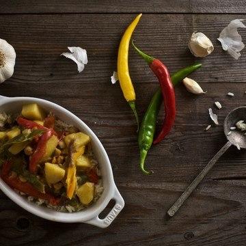 Rezept Buntes Gemüsecurry