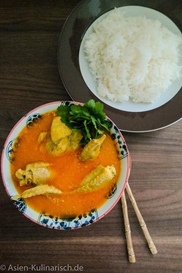 Rezept Burmesisches Hähnchencurry