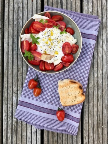Rezept Burrata – Tomate mit Mozzarella ganz anders