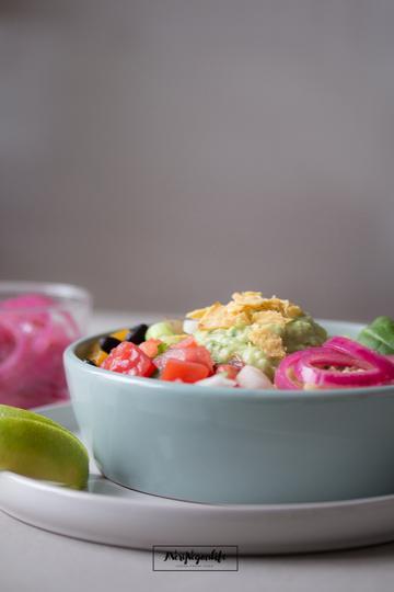 Rezept Burrito Bowl mit Fajita Veggies