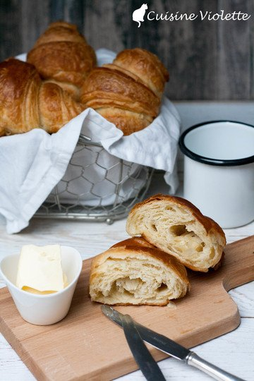 Rezept Butter Croissants