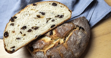 Rezept Butter-Rosinenbrot