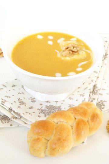 Rezept Butternuss Kürbissuppe