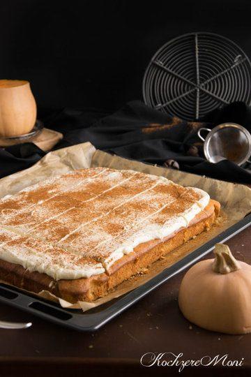 Rezept Butternusskürbis Joghurt Blechkuchen