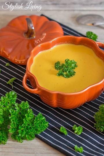 Rezept Butternut-Cremesuppe mit Kokosmilch