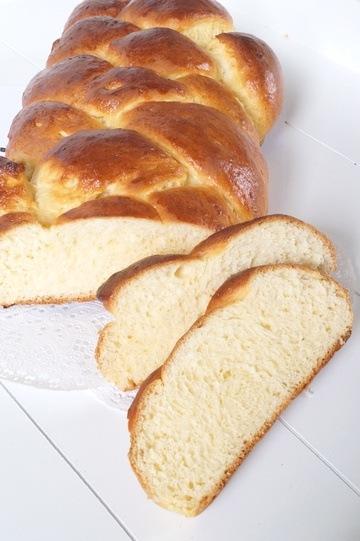 Rezept Butterstriezel - Hefezopf