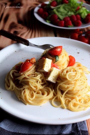Rezept Camembert-Pasta