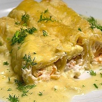 Rezept Cannelloni con salmone e finocchio