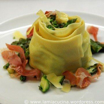 Rezept Cannelloni, gefüllt mit grünem Spargel