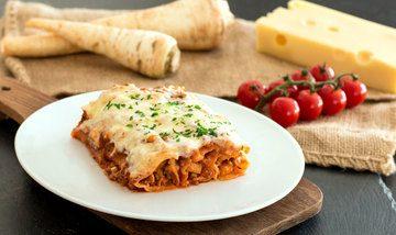 Rezept Cannelloni mit Pastinaken-Hack-Füllung
