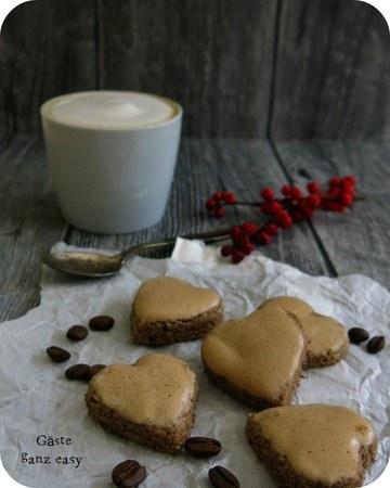 Rezept Cappuccino-Schoko-Herzen