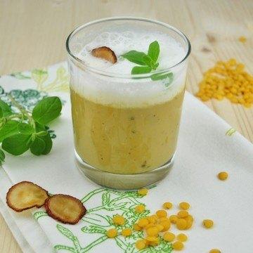 Rezept Cappuccino von der Linse