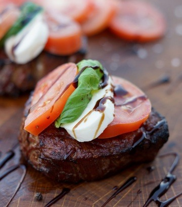 Rezept Caprese Filet Mignon