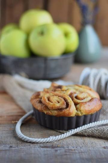 Rezept Caramel Apple Cinnamon Rolls