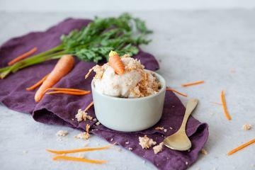 Rezept Carrot Cake-Eis